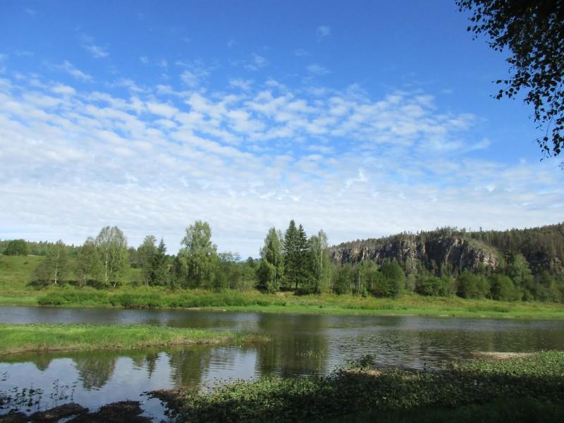 Вид на бывшую деревню Фролки и Ростун. Автор: Дмитрий Латышев