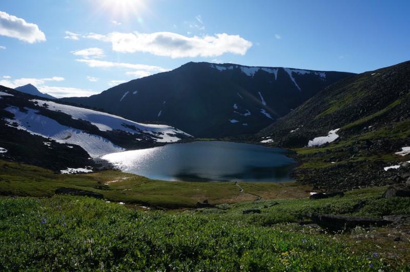Озеро на перевале Зигзаг. Автор: Павел Чеботарь