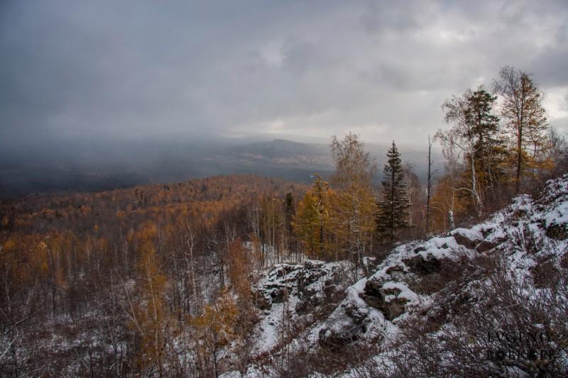 Вид с горы Карандаш. Автор: Евгений Бобков