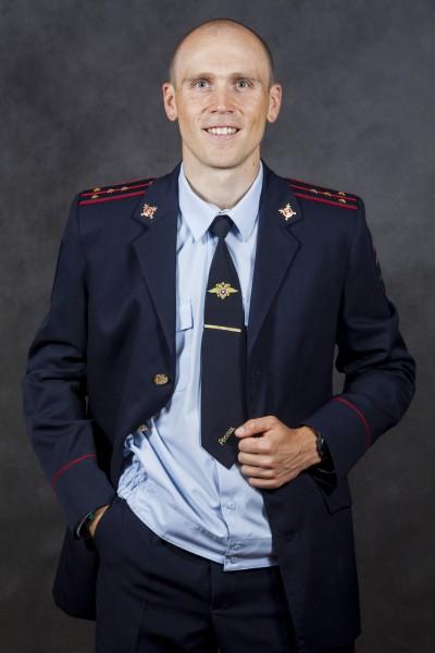 Олег Чегодаев, выпускник и сотрудник Уфимского юридического института МВД России. Автор: не известен