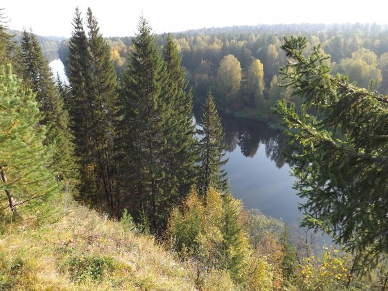 Река Чусовая, вид с Кукушкина камня. Автор: Татьяна Латышева