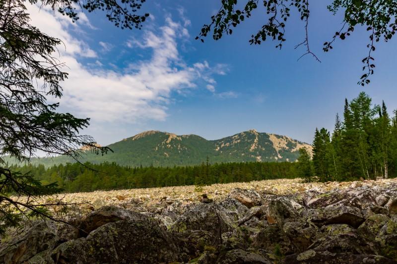 Застывшая Каменная река. Автор: Игорь Яковлев