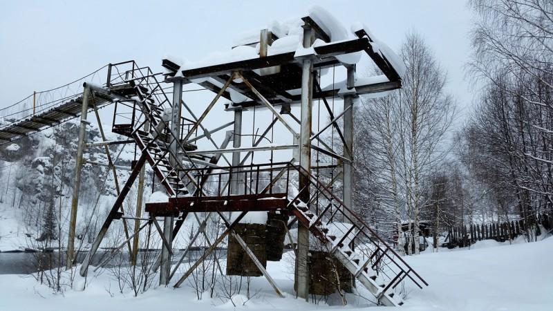 Опора подвесного моста. Автор: Дмитрий Гордеев