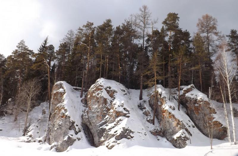 Крылышки - каменная гряда Курочки. Автор: Дмитрий Латышев