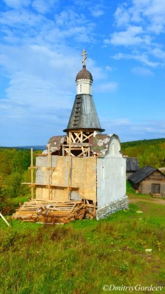 Часовня - обратная сторона п. Загубашка. Автор: Дмитрий Гордеев