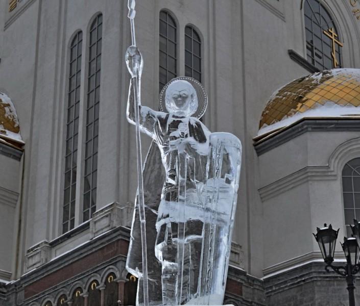 Вифлеемская звезда в Екатеринбурге. Автор: не установлен