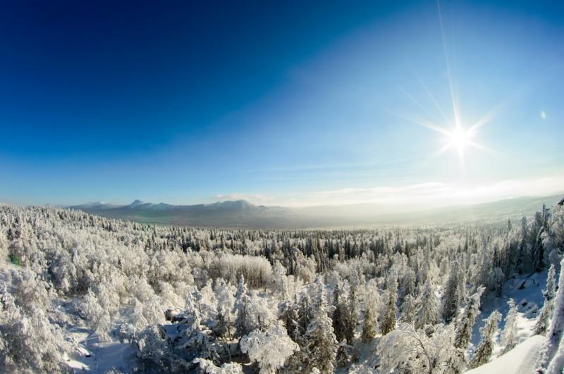 Вид с Черной скалы. Автор: Константин Теличко