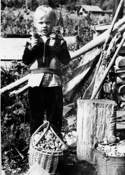 Детство в тайге. Олег Чегодаев. Автор: фото из семейного архива