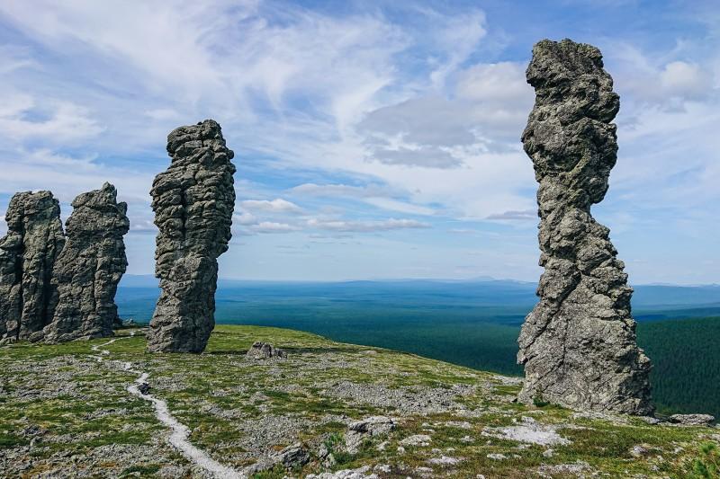На плато Маньпупунёр. Автор: Анна Логинова, Павел Русинов