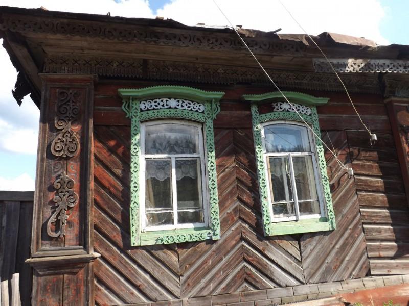 Дом на хуторе Бабенки, село Кын на Чусовой.. Автор: Михаил Латышев