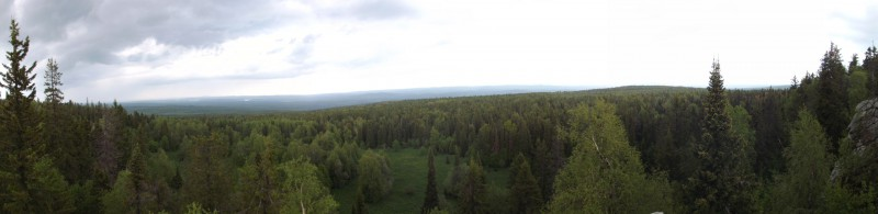 Панорама с горы Шунут. Автор: Дмитрий Латышев