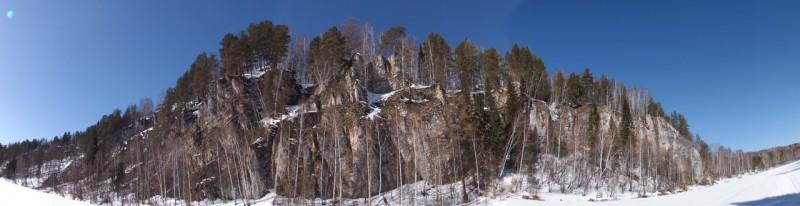 Панорама камня Винокуренного.. Автор: Михаил Латышев