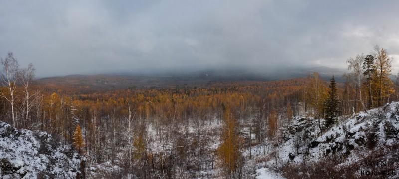 Вид с вершины. Автор: Евгений Бобков