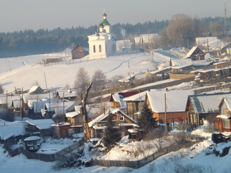 Часть Нижней деревни у Шайтан-камня звалась Малоданы.. Автор: Михаил Латышев