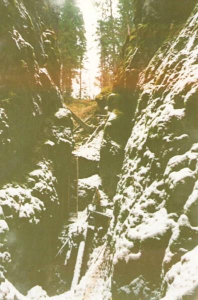 5 ноября 1995 года – Большой провал, национальный парк Оленьи ручьи. Автор: