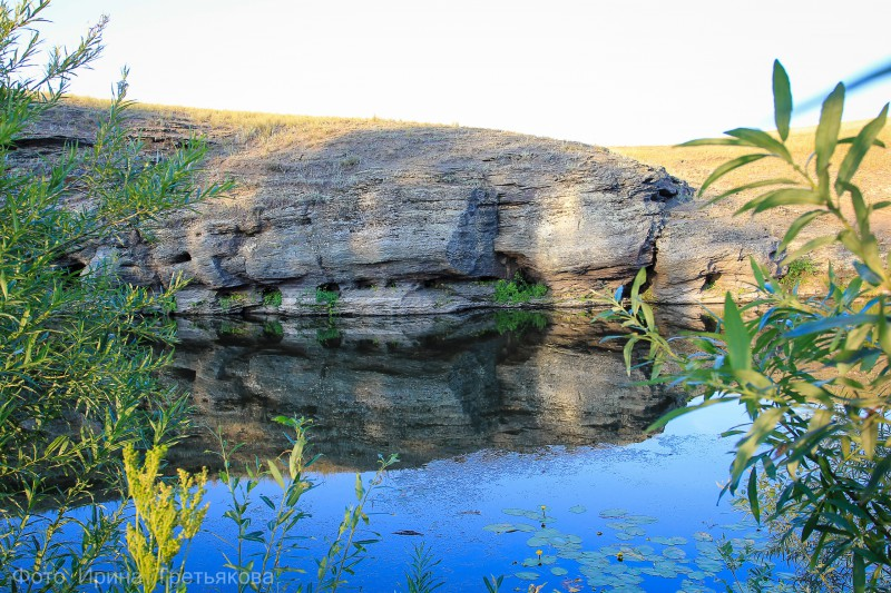 Река Сакмара. Место ночевки. Автор: Ирина Третьякова