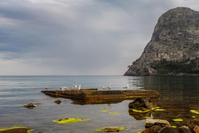 Кора Коба-Кая и Зеленая бухта. Автор: Ирина Аблеева