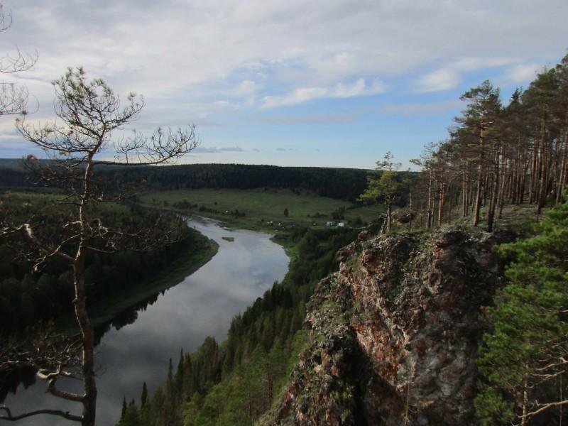Боец Ростун. Вид на Усть-Серебряную. Автор: Дмитрий Латышев