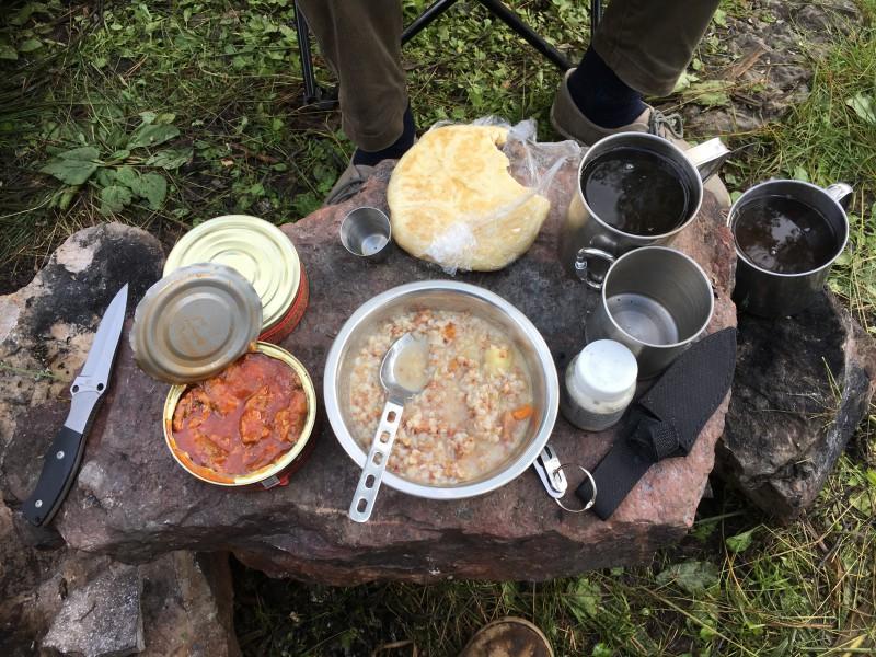 Завтрак туриста. Автор: Денис Трегубов