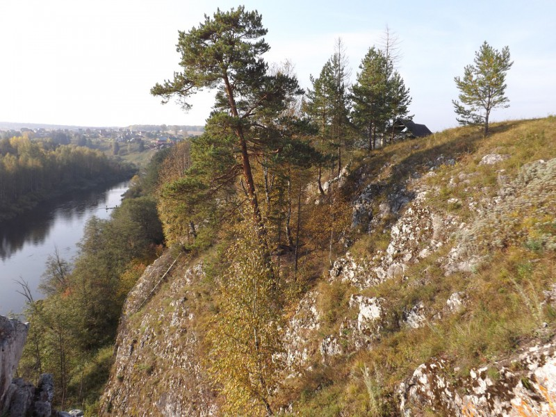 Кукушкин камень над Чусовой. Автор: Михаил Латышев