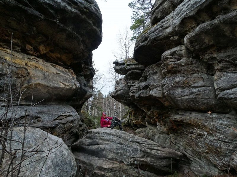 Скалы образованы руслом древних рек. Автор: Борис Калашников