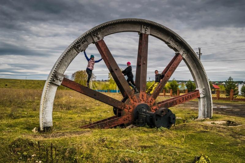 колесо в Тирляне. Автор: Тимофей Лесняк