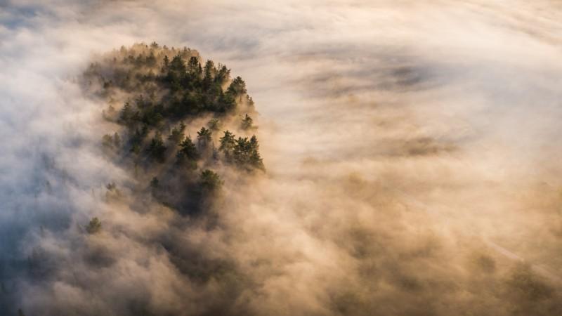 Камский туман. Автор: Кирилл Коровин