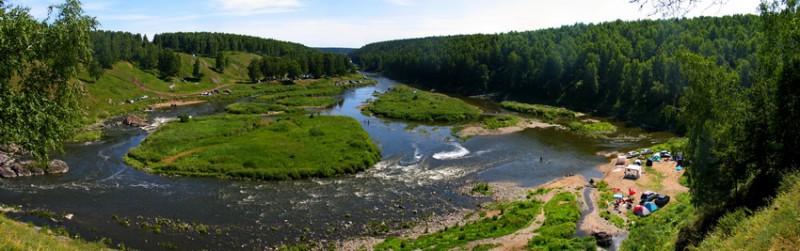 Порог Ревун, река Исеть. Автор: Дмитрий Карпунин