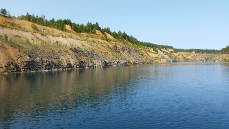 2 сентября 2018 года Морозовское голубое озеро. Автор: Дмитрий Гордеев