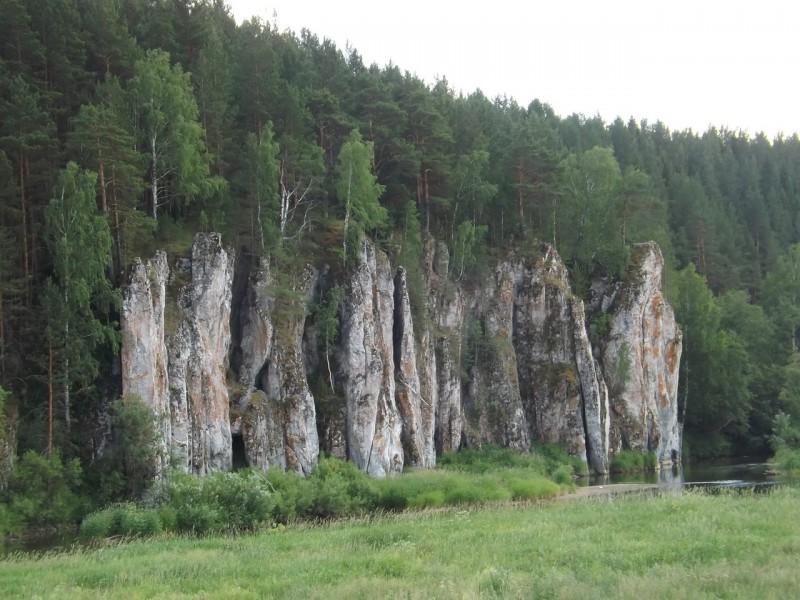Боец Шайтан - древнее место вогульских шаманов. Автор: Михаил Латышев