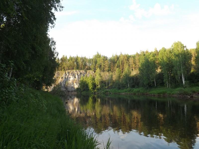 Здесь, в 1675 году у большого камня появилась деревня-однодворка Киприянко Антонова. Автор: Татьяна Латышева