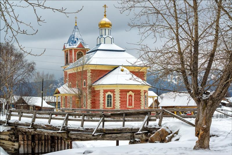 Тюлюк, церковь Введения Пресвятой Богородицы во храм. Автор: Анна Мочалова