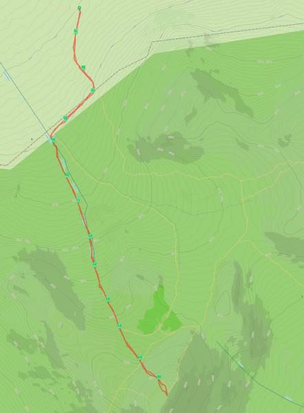 Точная карта маршрута. Автор: Константин Теличко