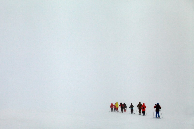 Отличная видимость на плато. Автор: Евгений Жаравин